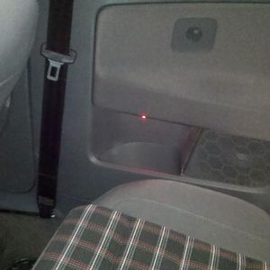 red led in each rear side pocket for accent lighting