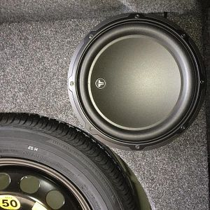JL Audio 10w3 and stealth box install.