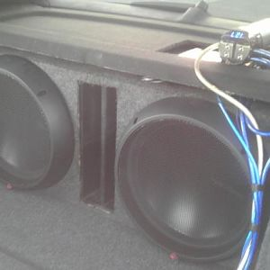 MY TWO 15 ROCKFORD FOSGATE SUBS